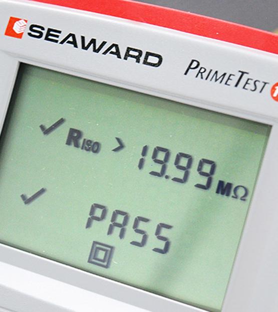 Seaward-Prime-Test-125-EL-Screen